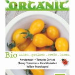 Bio Tomates Cerises Yellow Pearshaped