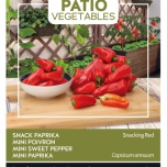 Poivron Snacking Red - Buzzy Patio Vegetables